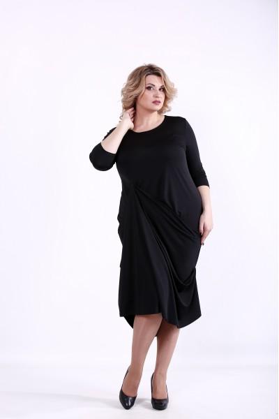 Фото Черное элегантное платье | 01374-2