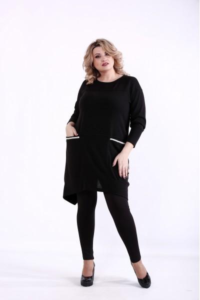 Фото Черная блузка | 01376-2