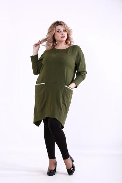 Фото Зеленая блузка | 01376-3