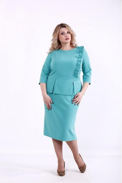 Фото Бирюзовое платье | 01378-2