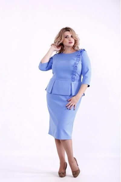 Фото Синее платье | 01378-3