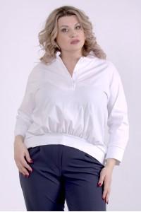 Фото Біла блузка | 01365-2
