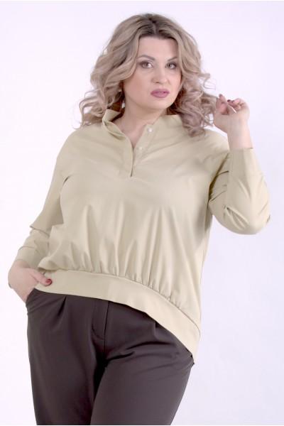 Фото Гірчична блузка | 01365-3