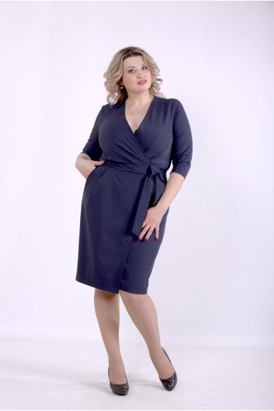 Фото Синее платье | 01390-1