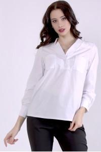 Фото Біла блузка | 01399-1