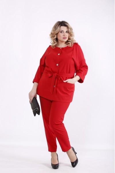Фото Красный костюм | 01421-2