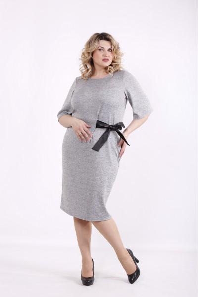 Фото Светло-серое платье | 01423-1
