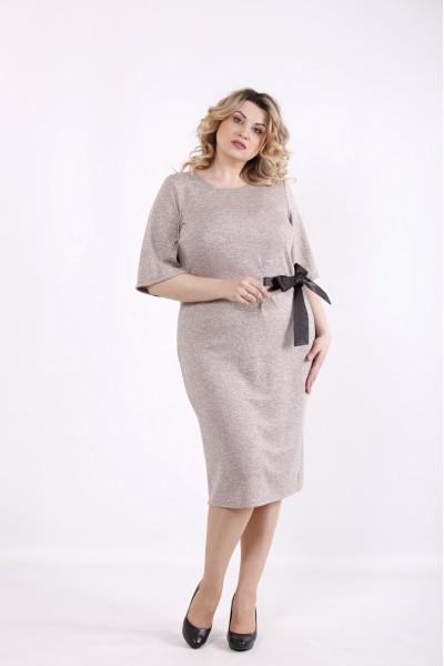 Фото Пудровое платье | 01423-2