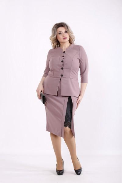 Фото Бисквитный костюм: блузка и юбка | 01430-2
