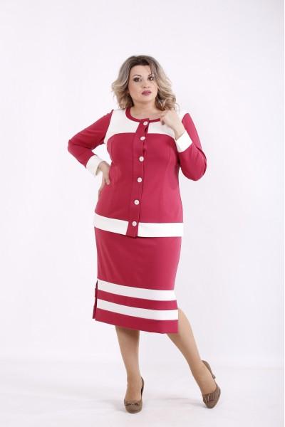 Фото Фрезия костюм: блузка и юбка | 01432-1