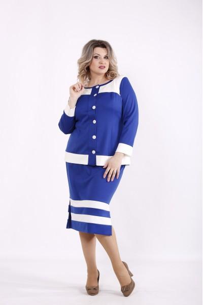 Фото Электрик костюм: блузка и юбка | 01432-3
