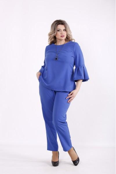 Фото Электрик комплект: блузка и брюки | 01437-3