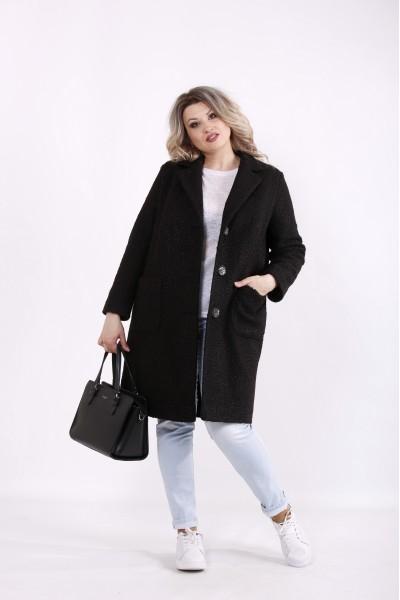 Фото Черное элегантное пальто | t01480-1